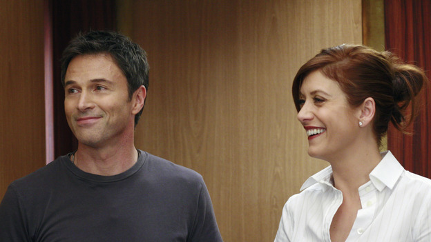 GREY'S ANATOMY - &quot;The Other Side of This Life&quot; - Addison takes temporary leave from Seattle Grace and makes a road trip to Los Angeles in order to visit some old friends from medical school. As Meredith continues to bond with her stepmother, Susan, Cristina reluctantly plans her wedding with the assistance of her mother, Helen, and Burke's mother, Mama Jane. Meanwhile, Derek must perform  emergency surgery on Ava/Jane Doe, as Alex continues his unfailing bedside manner with her, on &quot;Grey's Anatomy,&quot; THURSDAY, MAY 3 (9:00-11:00 p.m., ET) on the ABC Television Network. (ABC/RON  TOM)TIM DALY, KATE WALSH