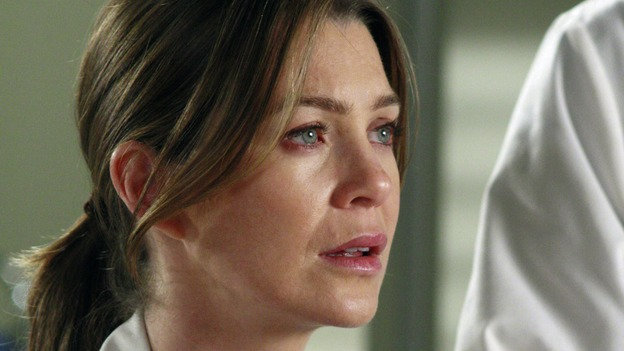 "GREY'S ANATOMY - ""The Heart of the Matter"" - The Chief's wife, Adele, rushes their niece to Seattle Grace, the hospital where she once had her prom, Izzie reveals her feelings for George to a mutual friend, and the reaction is not what she expects, Derek teaches Cristina how to be a better teaching resident, and the world's oldest living intern, Norman, misdiagnoses one of Meredith's patients, on ""Grey's Anatomy,"" THURSDAY, OCTOBER 18 (9:00-10:02 p.m., ET) on the ABC Television Network. (ABC/RON TOM)ELLEN POMPEO"