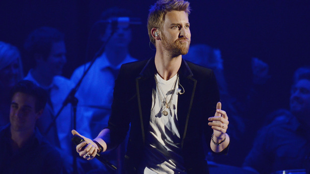 "THE 45th ANNUAL CMA AWARDS - THEATRE - ""The 45th Annual CMA Awards"" broadcast live on ABC from the Bridgestone Arena in Nashville on WEDNESDAY, NOVEMBER 9 (8:00-11:00 p.m., ET). (ABC/KATHERINE BOMBOY-THORNTON)CHARLES KELLEY OF LADY ANTEBELLUM"