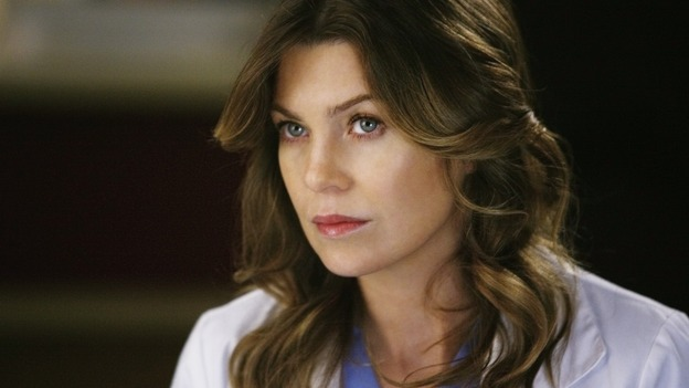 "GREY'S ANATOMY - ""Not Good at Saying Sorry (One More Chance)"" - Dr. Meredith Grey, on ""Grey's Anatomy,"" THURSDAY, APRIL 30 (9:00-10:02 p.m., ET) on the ABC Television Network. (ABC/SCOTT GARFIELD) ELLEN POMPEO"