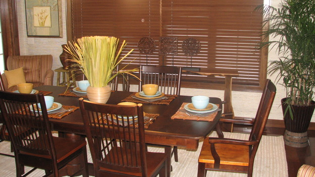 "EXTREME MAKEOVER HOME EDITION - ""Thibodeau Family,"" - Dining Room, on ""Extreme Makeover Home Edition,"" Sunday, November 5th on the ABC Television Network."