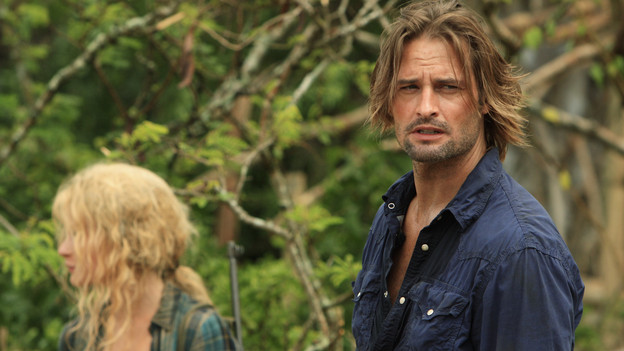 "LOST - ""The Candidate"" - Jack must decide whether or not to trust Locke after he is asked to follow through on a difficult task, on ""Lost,"" TUESDAY, MAY 4 (9:00-10:02 p.m., ET) on the ABC Television Network. (ABC/MARIO PEREZ) EMILIE DE RAVIN, JOSH HOLLOWAY"