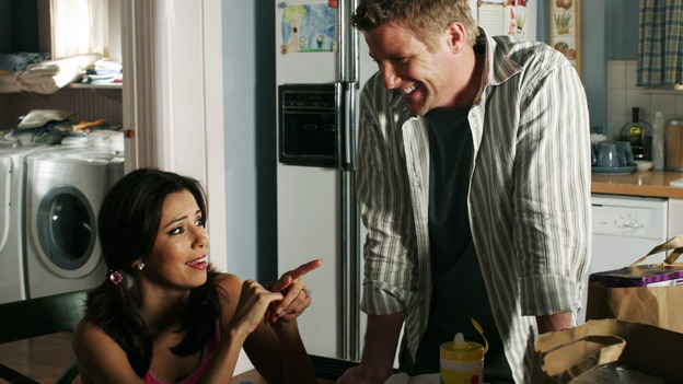 DESPERATE HOUSEWIVES - &quot;One More Kiss&quot; (ABC/RON TOM)EVA LONGORIA, DOUG SAVANT