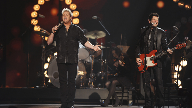 "THE 45th ANNUAL CMA AWARDS - THEATRE - ""The 45th Annual CMA Awards"" broadcast live on ABC from the Bridgestone Arena in Nashville on WEDNESDAY, NOVEMBER 9 (8:00-11:00 p.m., ET). (ABC/KATHERINE BOMBOY-THORNTON)RASCAL FLATTS"