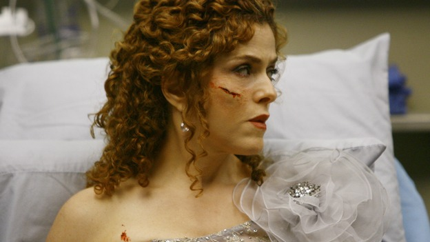 "GREY'S ANATOMY - ""Dream a Little Dream of Me"" - Three middle-aged women and their husbands are in a terrible traffic accident, on ""Grey's Anatomy,"" THURSDAY, SEPTEMBER 25 (9:00-11:00 p.m., ET) on the ABC Television Network. (ABC/SCOTT GARFIELD) BERNADETTE PETERS"