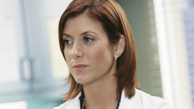 "GREY'S ANATOMY - ""Blink""- Mark flies Addison to Seattle to help with a difficult procedure on his pregnant daughter, Sloan, Owen questions Teddy's motives when she assigns Cristina the lead on a complicated surgery, and Derek's suspicions are raised when the Chief recruits Meredith to assist with a high profile operation on, ""Grey's Anatomy,"" THURSDAY, JANUARY 14 (9:00-10:01 p.m., ET) on the ABC Television Network. (ABC/ADAM TAYLOR)KATE WALSH"