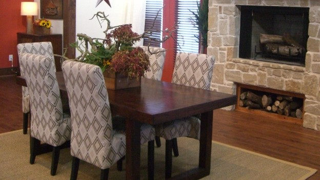 "EXTREME MAKEOVER HOME EDITION - ""Marshall Family,"" - Dining Room, on ""Extreme Makeover Home Edition,"" Sunday, October 18th (8:00-9:00 p.m. ET/PT) on the ABC Television Network."