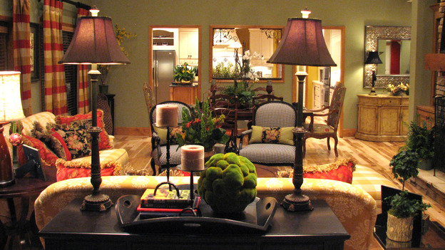"EXTREME MAKEOVER HOME EDITION - ""Tipton-Smith Family,"" - Living Room, on ""Extreme Makeover Home Edition,"" Sunday, March 11th on the ABC Television Network."