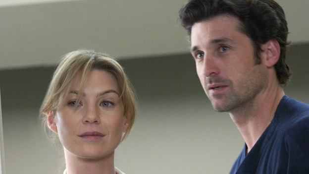 "101728_2035 -- COMPLICATIONS - ""NO MAN'S LAND"" (ABC/ RON TOM)ELLEN POMPEO, PATRICK DEMPSEY"