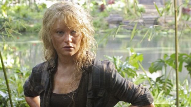 "LOST - ""Sundown"" - Sayid is faced with a difficult decision, and Claire sends a warning to the temple inhabitants, on ""Lost,"" TUESDAY, MARCH 2 (9:00-10:00 p.m., ET) on the ABC Television Network. (ABC/MARIO PEREZ) EMILIE DE RAVIN"