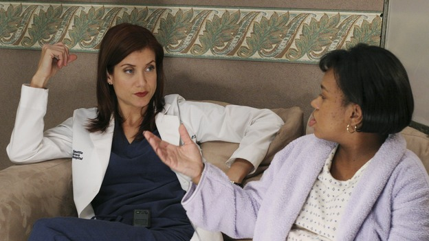 "GREY'S ANATOMY - ""It's the End of the World (As We Know It)"" (ABC/KAREN NEAL)KATE WALSH, CHANDRA WILSON"