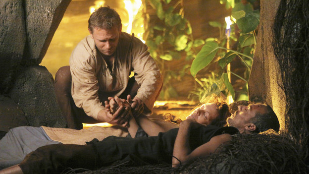 "LOST - ""Across the Sea"" - The motives of John Locke are finally explained, on ""Lost,"" TUESDAY, MAY 11 (9:00-10:00 p.m., ET) on the ABC Television Network. (ABC/MARIO PEREZ)MARK PELLEGRINO, ALLISON JANEY, TITUS WELLIVER"