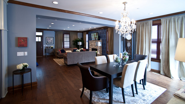 "EXTREME MAKEOVER HOME EDITION - ""Morris Family,"" - Dining Room, on ""Extreme Makeover Home Edition,"" Sunday, January 3rd on the ABC Television Network."