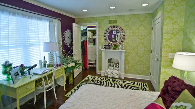 EXTREME MAKEOVER HOME EDITION - &quot;Morris Family,&quot; - Girl's Bedroom, on &quot;Extreme Makeover Home Edition,&quot; Sunday, January 3rd on the ABC Television Network.
