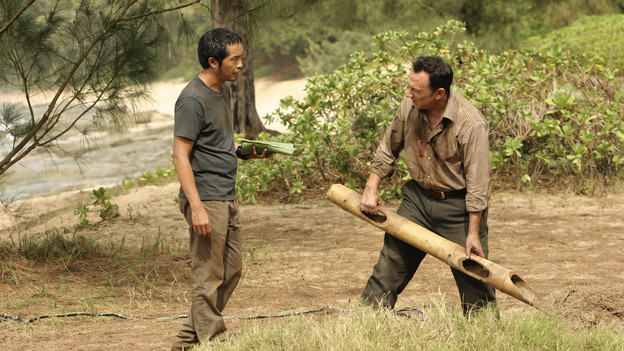 "LOST - ""Dr. Linus"" - Ben deals with the consequences of an uncovered lie, on ""Lost,"" TUESDAY, MARCH 9 (9:00-10:00 p.m., ET) on the ABC Television Network. (ABC/MARIO PEREZ)KEN LEUNG, MICHAEL EMERSON"