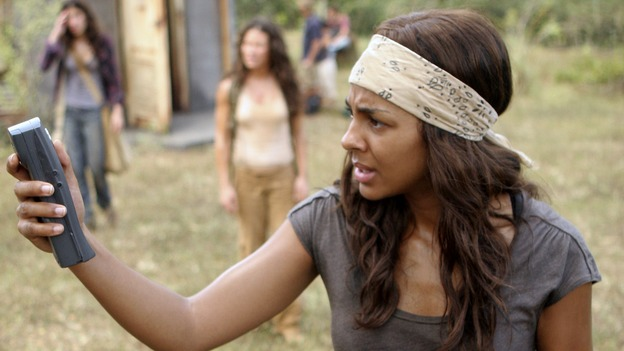 "LOST - ""Through the Looking Glass"" - Jack and the castaways begin their efforts to make contact with Naomi's rescue ship, on the season finale of ""Lost,"" WEDNESDAY, MAY 23 (9:00-11:00 p.m., ET), on the ABC Television Network. (ABC/MARIO PEREZ)MARSHA THOMASON"