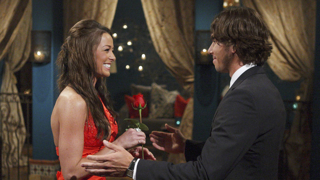 "THE BACHELOR - In ""Episode 1601,"" Ben returns to the mansion for the first big cocktail party. He explains to Chris Harrison that, as painful as his experience was last season, he has no regrets. When Ben began his journey with Ashley, he was emotionally shut down due to his grief over his father's death. Ultimately, he was able to open himself up again to love. Because of that journey, he is a different man and ready to try and find love again, when ""The Bachelor"" premieres MONDAY, JANUARY 2 (8:00-10:01 p.m., ET), on the ABC Television Network. (ABC/RICK ROWELL)JAMIE, BEN FLAJNIK"