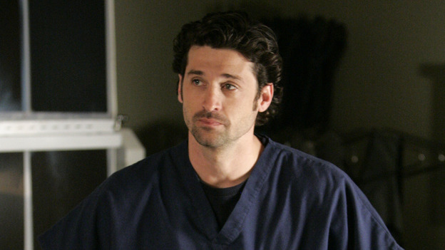 "102468_7263 -- GREY'S ANATOMY - ""RAINDROPS KEEP FALLING ON MY HEAD"" (ABC/CRAIG SJODIN)PATRICK DEMPSEY"