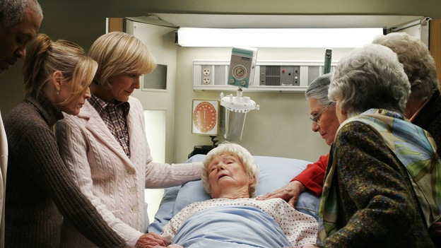 "GREY'S ANATOMY - ""Break On Through"" (ABC/RON TOM)JAMES PICKENS, JR., TEDDI SIDDALL, PAMELA ROYLANCE, DONA HARDY, RAE ALLEN, JUNE LOCKHART, BETTY GARRETT"
