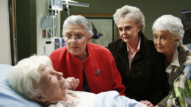 "GREY'S ANATOMY - ""Break On Through"" (ABC/RON TOM)DONA HARDY, RAE ALLEN, JUNE LOCKHART, BETTY GARRETT"
