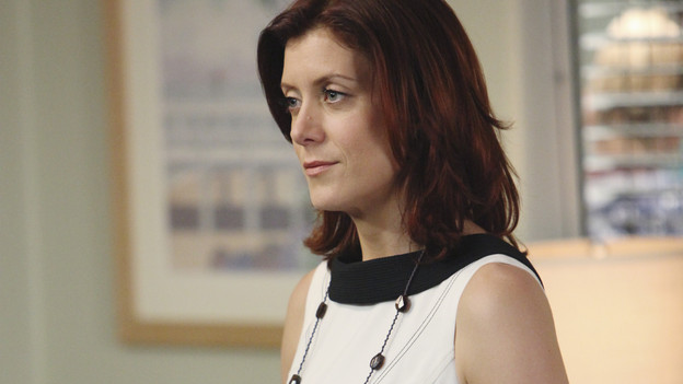 PRIVATE PRACTICE - &quot;Eyes Wide Open&quot; - When famed neurosurgeon Dr. Ginsberg and her team pay a visit to St. Ambrose to save the life of Kayla, Addison is shocked to see Amelia Shepherd - Derek's younger sister on the team. But Amelia's presence causes strife between Addison, Sam and Pete when she claims she can save Kayla's life after Dr. Ginsberg declares nothing can be done. Meanwhile Charlotte seeks from Cooper's with a sex education seminar for the elderly that only leads to more tension between the two, as they try to figure out how to work together, on &quot;Private Practice,&quot; THURSDAY, APRIL 1 (10:01-11:00 p.m., ET) on the ABC Television Network. (ABC/ADAM LARKEY)KATE WALSH