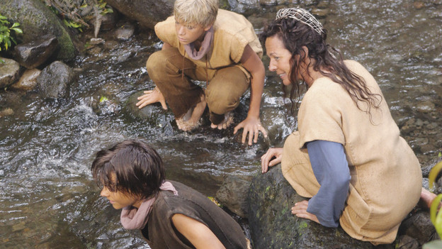 LOST - &quot;Across the Sea&quot; - The motives of John Locke are finally explained, on &quot;Lost,&quot; TUESDAY, MAY 11 (9:00-10:00 p.m., ET) on the ABC Television Network. (ABC/MARIO PEREZ)RYAN BRADFORD, KENTON DUTY, ALLISON JANNEY