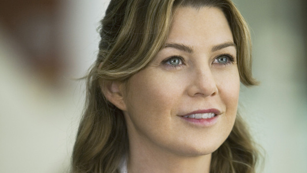 "GREY'S ANATOMY - ""These Ties That Bind"" - Dr. Meredith Grey, on ""Grey's Anatomy,"" THURSDAY, NOVEMBER 13 (9:00-10:01 p.m., ET) on the ABC Television Network. (ABC/RANDY HOLMES) ELLEN POMPEO"