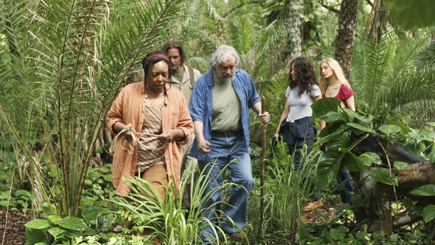 "LOST - ""The Incident,"" Parts 1 & 2 - Jack's decision to put a plan in action in order to set things right on the island is met with some strong resistance by those close to him, and Locke assigns Ben a difficult task, on the season finale of ""Lost,"" WEDNESDAY, MAY 13 (9:00-11:00 p.m., ET) on the ABC Television Network. (ABC/MARIO PEREZ)L. SCOTT CALDWELL, JOSH HOLLOWAY, SCOTT ANDERSON, EVANGELINE LILLY, ELIZABETH MITCHELL"
