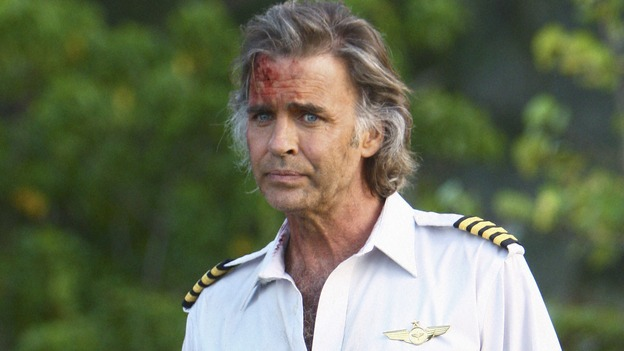 "LOST - ""Namaste"" - When some old friends drop in unannounced, Sawyer is forced to further perpetuate his lie in order to protect them, on ""Lost,"" WEDNESDAY, MARCH 18 (9:00-10:02 p.m., ET) on the ABC Television Network. (ABC/MARIO PEREZ)JEFF FAHEY"
