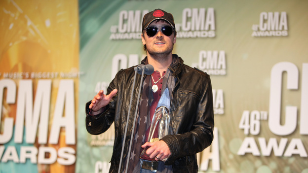 "THE 46TH ANNUAL CMA AWARDS - GENERAL - ""The 46th Annual CMA Awards"" airs live THURSDAY, NOVEMBER 1 (8:00-11:00 p.m., ET) on ABC live from the Bridgestone Arena in Nashville, Tennessee. (ABC/SARA KAUSS)ERIC CHURCH"