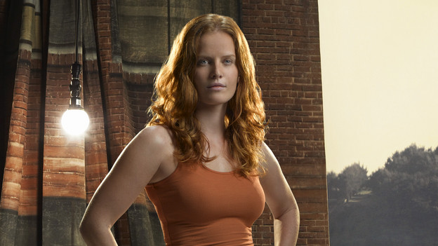 LOST - Rebecca Mader guest stars on &quot;Lost&quot; as Charlotte Lewis. (ABC/BOB D'AMICO)