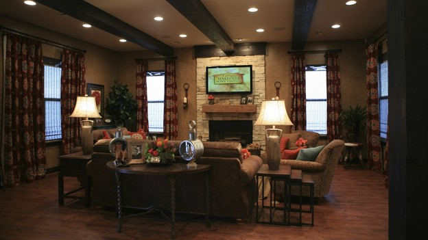 "EXTREME MAKEOVER HOME EDITION - ""Skaggs Family,"" - Living Room, on ""Extreme Makeover Home Edition,"" Sunday, March 14th on the ABC Television Network."