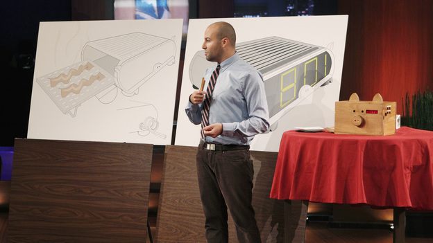 "SHARK TANK - ""Episode 202"" - Season Two of ""Shark Tank"" promises to make TV history with the Sharks offering over $10 million in investment deals to bankroll a creative array of innovative entrepreneurs. This season, high tech billionaire entrepreneur Mark Cuban and successful comedian and self-made businessman Jeff Foxworthy jump into the Tank to appear separately in the show's nine episodes. The Season Premiere, ""Episode 202,"" airs FRIDAY, MARCH 25 (8:00-9:00 p.m., ET) on ABC. (ABC/CRAIG SJODIN)MATTY SALLIN (WAKE N' BACON)"