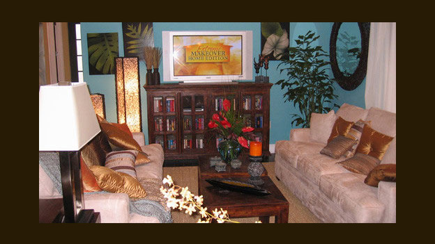 EXTREME MAKEOVER HOME EDITION - &quot;Nick Family,&quot; - Living Room, on &quot;Extreme Makeover Home Edition,&quot; Sunday, April 2nd on the ABC Television Network.