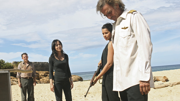 "LOST - ""The Substitute"" - Locke goes in search of help to further his cause, on ""Lost,"" TUESDAY, FEBRUARY 16 (9:00-10:00 p.m., ET) on the ABC Television Network. (ABC/MARIO PEREZ)MICHAEL EMERSON, YUNJIN KIM, ZULEIKHA ROBINSON, JEFF FAHEY"
