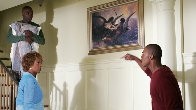 "DESPERATE HOUSEWIVES - ""There's Something About War"" (ABC/RON TOM)NASHAWN KEARSE, ALFRE WOODARD, MEHCAD BROOKS"