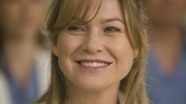 GREY'S ANATOMY - &quot;Brave New World&quot; - Dr. Meredith Grey, on &quot;Grey's Anatomy,&quot; THURSDAY, OCTOBER 16 (9:00-10:01 p.m., ET) on the ABC Television Network. (ABC/RANDY HOLMES) ELLEN POMPEO