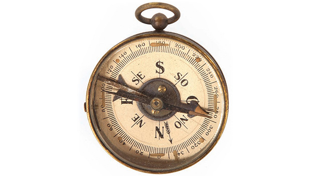 "Locke's compassCompass given by Richard Alpert to Locke during a time shift sequence, so that Richard will believe Locke when they meet in the past. When Locke time-shifted to 1954, he gives Richard the same compass, thereby earning his trust.Related content:EPISODE RECAP - ""Cabin Fever""EPISODE RECAP - ""Jughead"""