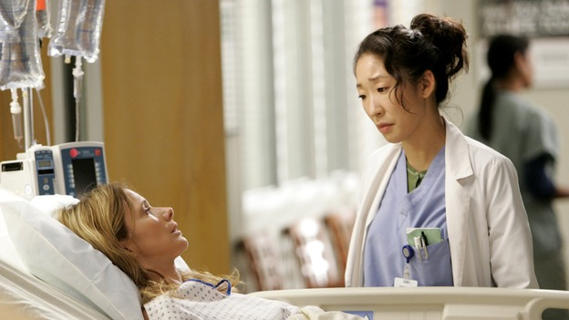 "GREY'S ANATOMY - ""Owner of a Lonely Heart"" (ABC/CRAIG SJODIN)ROSANNA ARQUETTE, SANDRA OH"
