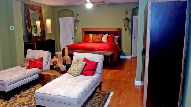 EXTREME MAKEOVER HOME EDITION - &quot;Okvath Family,&quot; - Master Bedroom, on &quot;Extreme Makeover Home Edition,&quot; Sunday, May 13th on the ABC Television Network.