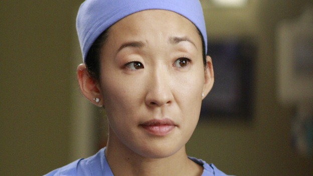 "GREY'S ANATOMY - ""Dream a Little Dream of Me"" - Cristina preps for surgery, on ""Grey's Anatomy,"" THURSDAY, SEPTEMBER 25 (9:00-11:00 p.m., ET) on the ABC Television Network. (ABC/RON TOM) SANDRA OH"
