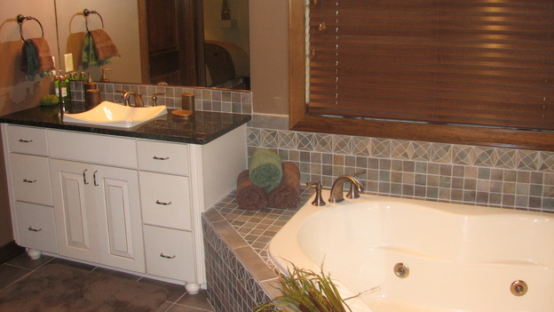 "EXTREME MAKEOVER HOME EDITION - ""Thibodeau Family,"" - Bathroom, on ""Extreme Makeover Home Edition,"" Sunday, November 5th on the ABC Television Network."