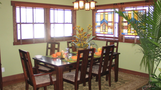 EXTREME MAKEOVER HOME EDITION - &quot;Rodriguez Family,&quot; - Dining Room, on &quot;Extreme Makeover Home Edition,&quot; Sunday, September 25th on the ABC Television Network.
