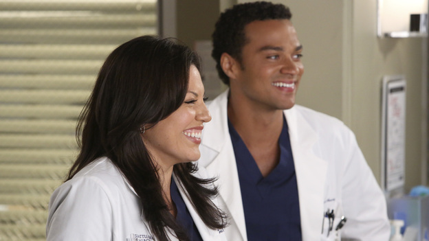 "GREY'S ANATOMY - ""Remember the Time"" - (ABC/DANNY FELD)SARA RAMIREZ, JESSE WILLIAMS"