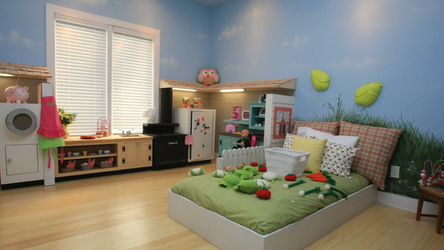 EXTREME MAKEOVER HOME EDITION - &quot;Lampe Family,&quot; - Playhouse Room Picture,   on &quot;Extreme Makeover Home Edition,&quot; Sunday, January 9th (8:00-9:00 p.m.   ET/PT) on the ABC Television Network.