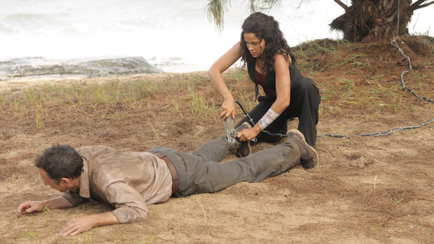 "LOST - ""Dr. Linus"" - Ben deals with the consequences of an uncovered lie, on ""Lost,"" TUESDAY, MARCH 9 (9:00-10:00 p.m., ET) on the ABC Television Network. (ABC/MARIO PEREZ)MICHAEL EMERSON, ZULEIKHA ROBINSON"