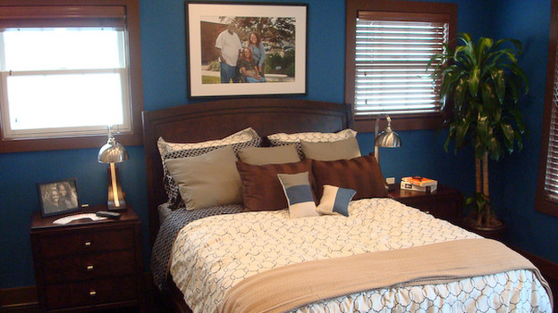 "EXTREME MAKEOVER HOME EDITION - ""Scott Family,"" - Master Bedroom, on ""Extreme Makeover Home Edition,"" Sunday, December 13th on the ABC Television Network."