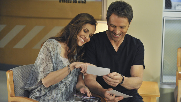 PRIVATE PRACTICE - &quot;The End of a Beautiful Friendship&quot; - Maya and her unborn baby are fighting for their lives on the operating table, and Addison, Amelia and Fife try everything humanly possible to save them. Meanwhile, Sam operates on an incoming crash victim and later makes a grim discovery; Cooper makes an ill-timed but valiant effort with Charlotte, and the staff's world gets rocked by an unexpected death, on the Season Finale of &quot;Private Practice,&quot; THURSDAY, MAY 13 (10:01-11:00 p.m., ET) on the ABC Television Network. (ABC/ERIC MCCANDLESS)AMY BRENNEMAN, TIM DALY