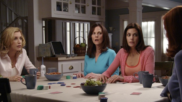 "DESPERATE HOUSEWIVES - ""CHILDREN WILL LISTEN "" (ABC/DANNY FELD) FELICITY HUFFMAN, LESLEY ANN WARREN, TERI HATCHER, MARCIA CROSS"
