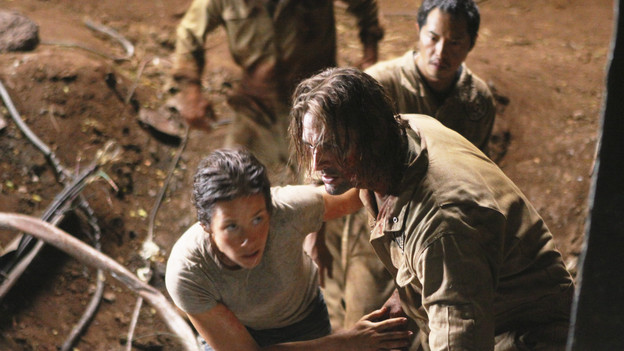 LOST - &quot;LA X&quot; - &quot;Lost&quot; returns for its final season of action-packed mystery and adventure -- that will continue to bring out the very best and the very worst in the people who are lost -- on the season premiere of &quot;Lost,&quot; TUESDAY, FEBRUARY 2 (9:00-11:00 p.m., ET) on the ABC Television Network. On the season premiere episode, &quot;LA X&quot; Parts 1 &amp; 2, the aftermath from Juliet's detonation of the hydrogen bomb is revealed. (ABC/MARIO PEREZ)MATTHEW FOX, EVANGELINE LILLY, JOSH HOLLOWAY, KEN LEUNG